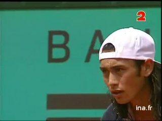 Deuxième tour à Roland Garros : Rios contre Sampras tie break du deuxième set