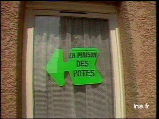 Harlem Désir parle de la maison des Potes, concept de SOS Racisme et sujet Saint Denis