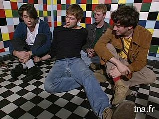 Interview membres du groupe Blur