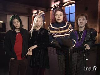 Interview des membres du groupe Smashing Pumpkins