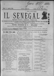 OMNIA - Il Senegal : giornale periodico, scientifico