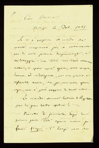 Lettera ; firma autografa ; Incipit: Se vi è persona al mondo che meriti rimproveri son io certamente... ; Giuseppe Verdi esprime le sue scuse alla contessa Ma