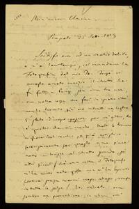 Lettera ; firma autografa ; Incipit: Soddisfo ora ad un vecchio debito, e n'è ben tempo, col mandarvi la fotografia del mio Io… ; Giuseppe Verdi invia in dono