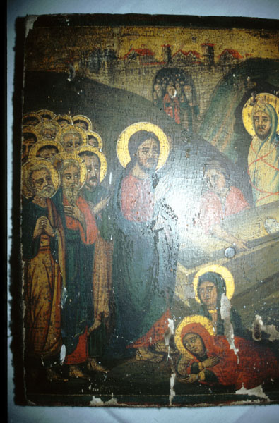Ιερά εικόνα Αναστάσεως του Λαζάρου