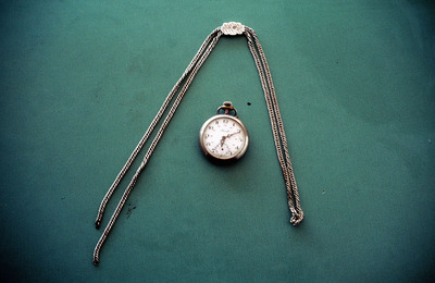 Ρολόι τσέπης με αλυσίδα