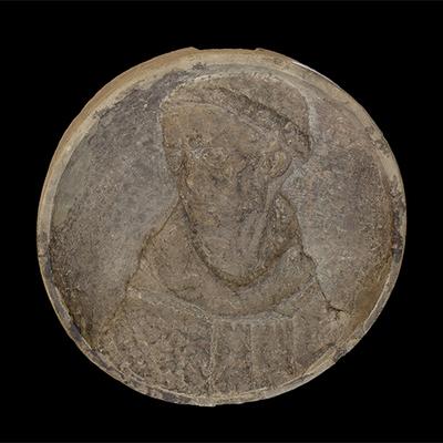 Decorated medallion Artistic Artifact 1137 - Image