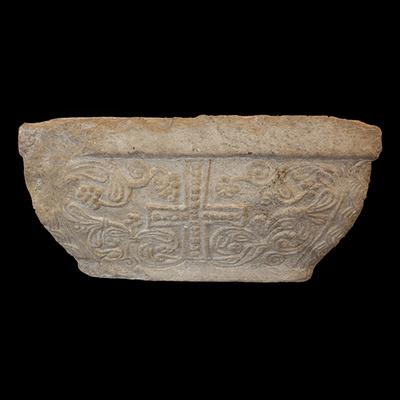 Semi-pillar's capital Artistic Artifact 754 - Image