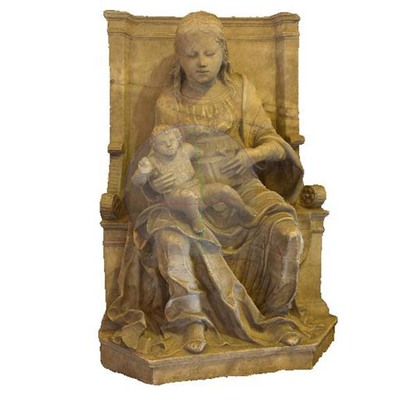 Statue Artistic Artifact 852 bis - 3D