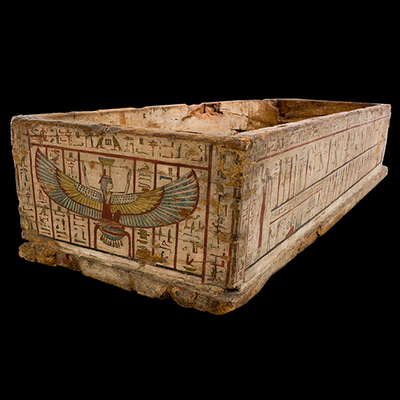Case of a sarcophagus Artistic Artifact E 0.9.40148 - Image