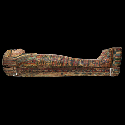 Anthropomorphic sarcophagus Artistic Artifact E 0.9.40154 - Image