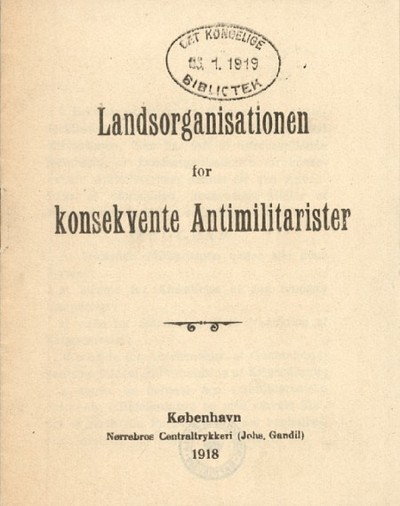 Landsorganisationen for konsekvente Antimilitarister