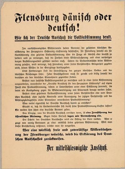 Flensburg dänisch oder deutsch