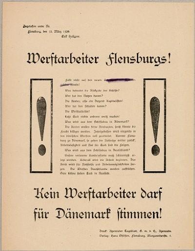 Werftarbeiter Flensburgs