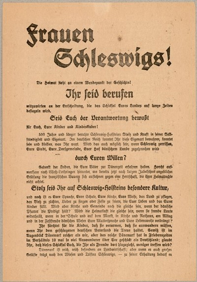 Frauen Schleswigs