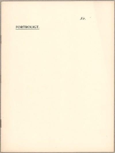 Til Den overordentlige Kommission af 8. August 1914, Fragtudvalget  : Da vi anser det ...