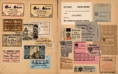 Gutschein, Reichsfleischkarte, Brotmarke