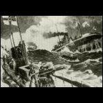 Német tengeralattjárok, több angol hajót sülyesztettek el az Északi-tengeren