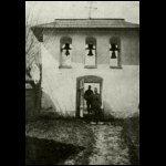 Román temető bejárata Molódián, ahol sok orosz katonát temettünk el