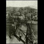 Osztrák-magyar hídőrség a Vardar hídján Velezben