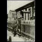 Hindenburg vezérkari főnök és (mögötte) Ludendorff első főszállásmester