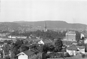 Utsikt over Trondheim fra øst