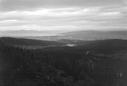 Utsikt fra Fjellseter mot Trondheim
