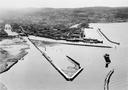 Trondheim havn sett fra lufta