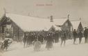 Skiløpere på Skistua