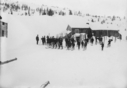 Gamle Fjellseter en skisøndag