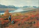 Høstdag ved Gjevilvatnet