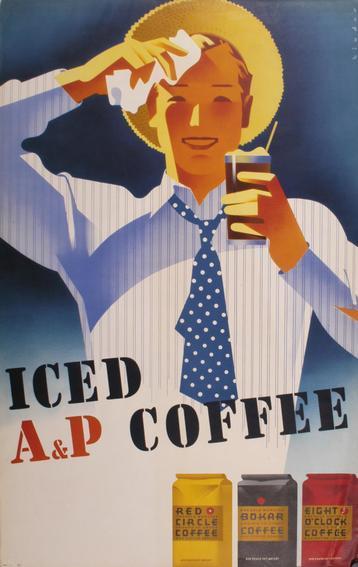 Iced A & P Coffee