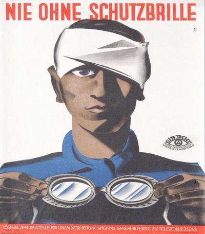 Nie ohne Schutzbrille