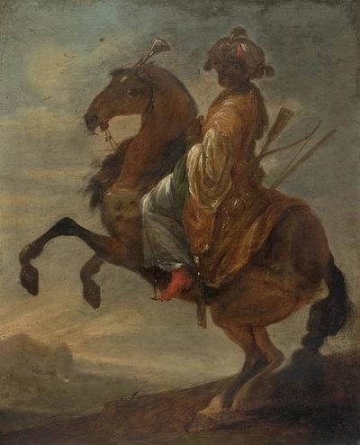 Krieger zu Pferd aus dem Morgenland