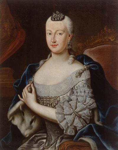 Sophie Antonia (1724-1802), Herzogin von Sachsen-Coburg-Saalfeld, Wolfenbüttel (1680-1735) und Gattin des Herzogs Ernst Friedrich von Sachsen-Coburg-Saalfeld (1724-1800)