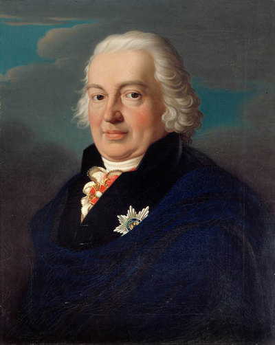 Herzog Franz Friedrich Anton von Sachsen-Coburg-Saalfeld (1750-1806; Herzog 1800 - 1806)