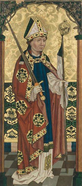 VS. Heiliger Kilian          RS. Christus als Schmerzensmann