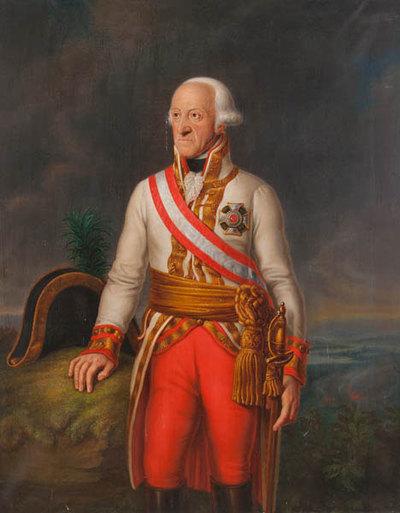 Friedrich Josias v. Sachsen-Coburg-Saalfeld, Kopie nach einem Gemälde von F. Jagemann