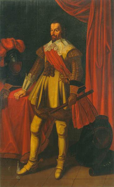 Albrecht Wenzel Eusebius von Waldstein, genannt Wallenstein (1583 - 1634)