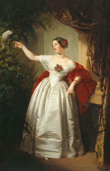 Herzogin Alexandrine von Sachsen-Coburg und Gotha (1820 - 1904)