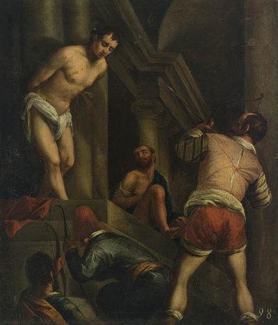 Das Martyrium des hl. Sebastian