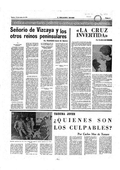 Señorío de Vizcaya y los otros reinos peninsulares, II