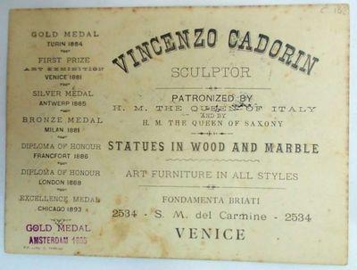 Biglietto da visita di Cadorin
