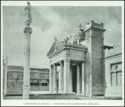 Padiglione dell'Architettura dell'Esposizione di Milano