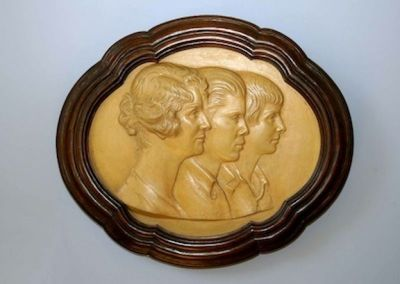 Bassorilievo con i ritratti dei figli del conte Guicciardini