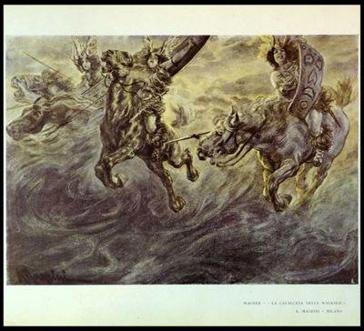 Magrini, Adolfo - Wagner La cavalcata delle Walkirie