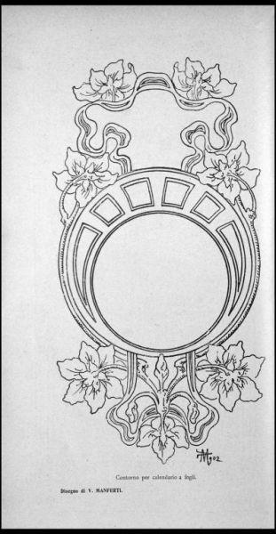 Manferti, V. - [Disegno]