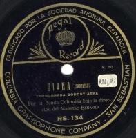 Diana  [grabación sonora]  : Tamborrada Donostiarra  / Sarriegui. Los rigodones euskaros. Parte 3ª / Torre-Muzquiz