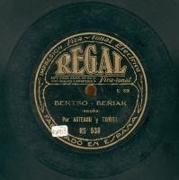 Bertso - berriak  [Grabación sonora]  / por Asteasu y Txirrita