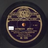 Guernikako arbola  [Grabación sonora]  : himno vasco  / Iparraguirre. Marcha de San Ignacio de Loyola : himno popular