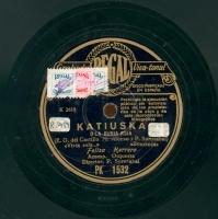 Katiuska o La Rusia roja  [Grabación sonora]  / [texto] E. G. del Castillo, M. Alonso ; y [música] P. Sorozabal